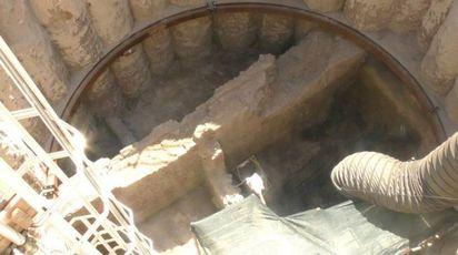 Roma, trovata piccola Pompei durante gli scavi della metro C