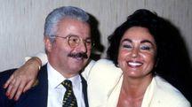 Silvana Dall'Orto insieme al marito Giuseppe Zannoni in un'immagine scattata nei giorni successivi alla liberazione