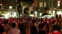 La folla che ha invaso Rimini in una delle precedenti edizioni