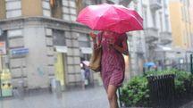 Allerta meteo Emilia Romagna per temporali e vento forte (Newpress)