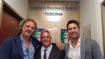 Mario Ceri con sindaco e assessore