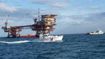 La simulazione di emergenza ambientale al largo delle coste di Pesaro