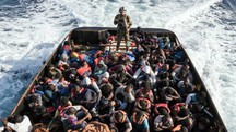 Migranti (foto Afp)