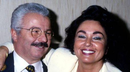 Silvana Dall'Orto con il marito Giuseppe Zannoni in una foto d'epoca