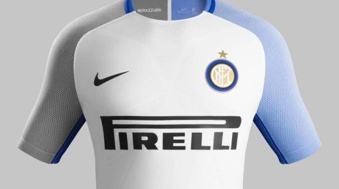 La nuova maglia da trasferta dell'Inter