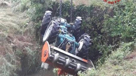 Incidente con il trattore (immagine di repertorio)