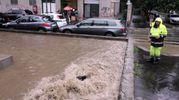 Maltempo a Milano, esonda ancora il Seveso in zona Niguarda