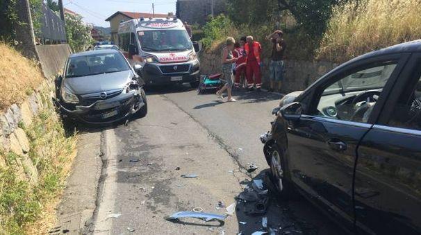 L'INCIDENTE Avvenuto nel territorio comunale  a Santo Stefano durante i rilievi delle forze dell'ordine