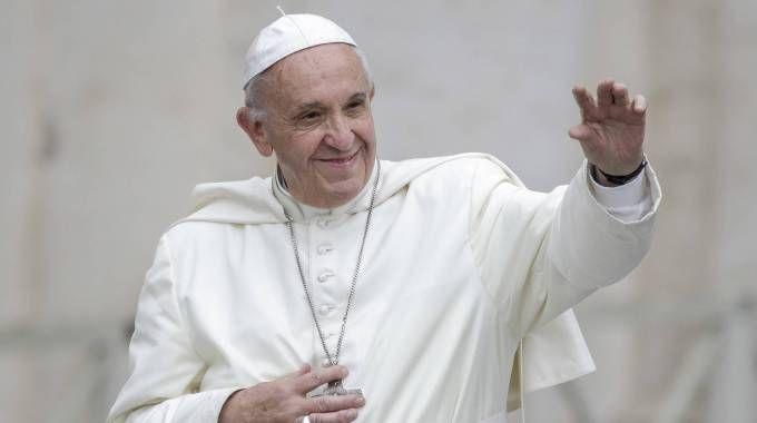 Papa Francesco sarà a Bologna domenica 1° ottobre (foto Olycom)