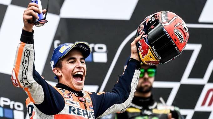 Marc Marquez vince il Gp di Germania (Ansa)