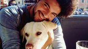 Eder Guadarelli, brasiliano 32enne adottato da una famiglia ferrarese, in una foto tratta dal suo profilo Facebook (Ansa)
