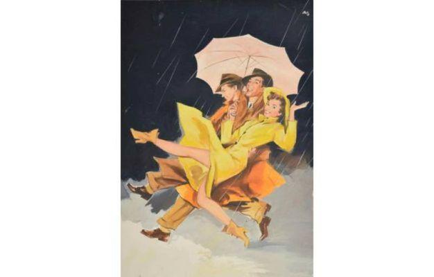 Cantando sotto la pioggia, 1953