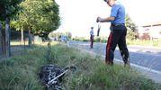 La moto è stata sbalzata a 40 metri dell'impatto