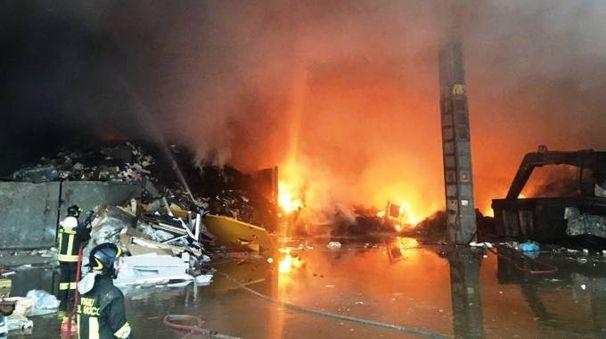 Incendio a Senago (Studionord)