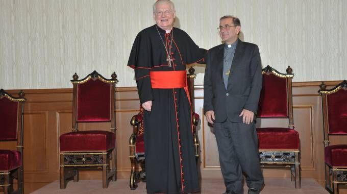 Angelo Scola e Mario Delpini, nuovo arcivescovo di Milano (Newpress)