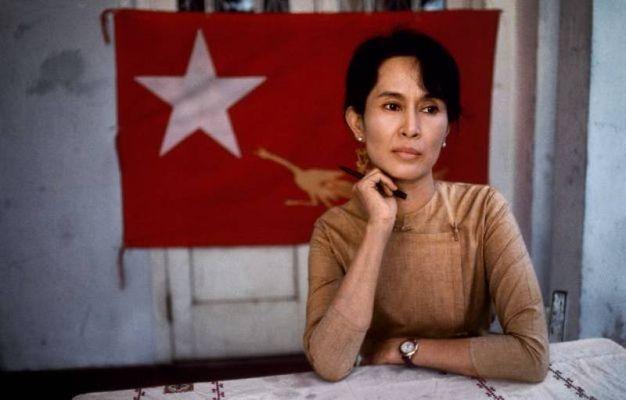 Rangoon, Birmania, 1995.