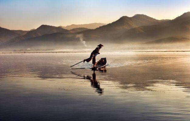 Lago Inle, Birmania, 2011.
