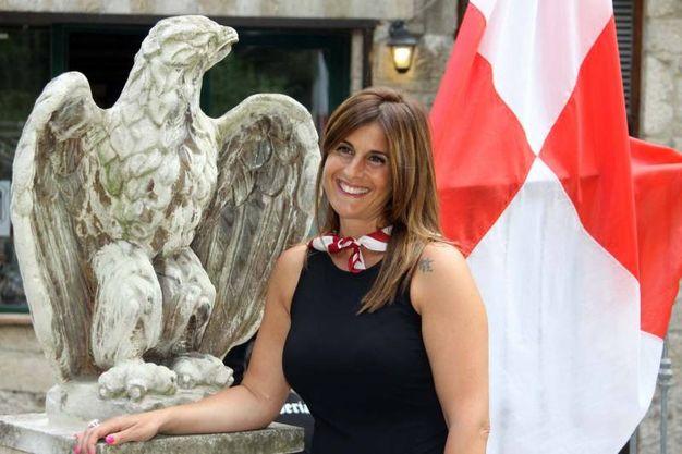 Valeria Sirocchi, dama della Piazzarola