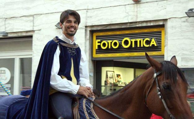 Innocenzi, cavaliere di Solestà (Foto Labolognese)