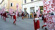 Sbandieratori di Piazzarola (Foto Labolognese)