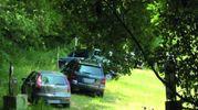 Le auto parcheggiate abusivamente