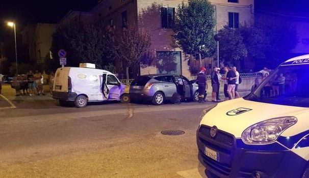 Il tragico incidente a Calcinelli di Saltara