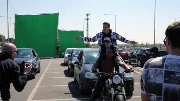 """Il backstage del video di """"Volare"""" sulla Teem"""