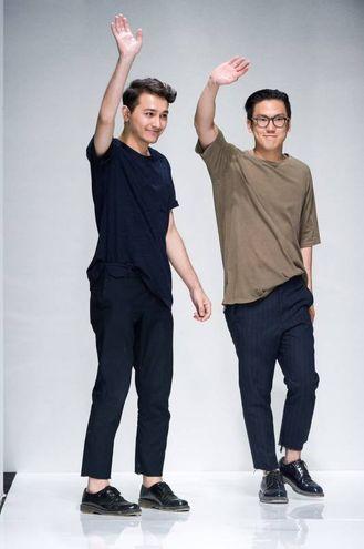 GLi stilisti Galib Gasanov e Luca Lin