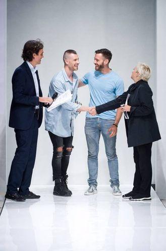 Nicolò Giannini e Andrea Mondin, con Emanuele Farneti e Silvia Venturini Fendi
