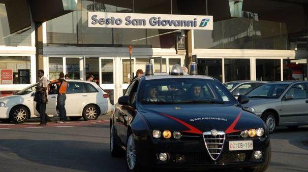La zona è stata isolata dai carabinieri