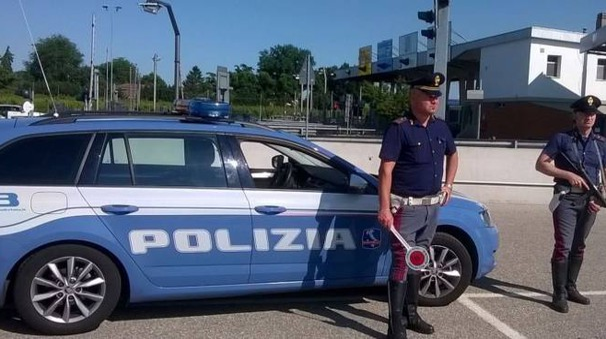 Una pattuglia della polizia (repertorio)