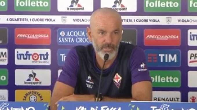 Stefano Pioli, allenatore della Fiorentina