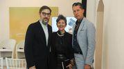 Flavio Del Monte, Maria Luisa Frisa e Stefano Tonchi