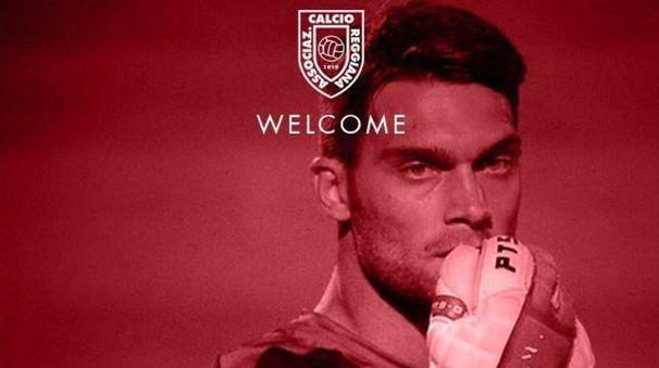 L'estremo difensore Facchin, nuovo acquisto della Reggiana