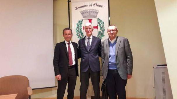 Corrado Casoli, Casimiro Maule e Salvatore Vitali
