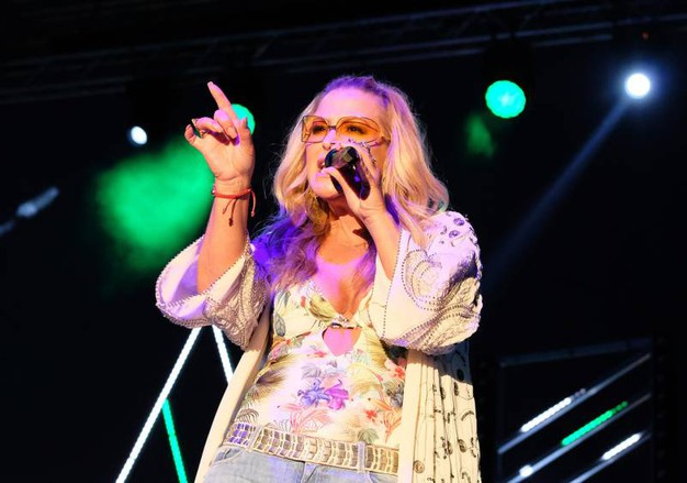 La popstar Anastacia (Fotoprint)