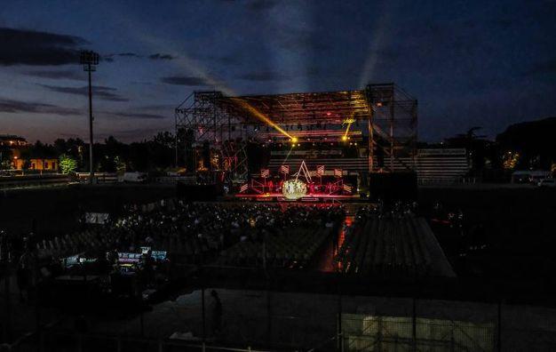 Lo stadio Benelli (Fotoprint)