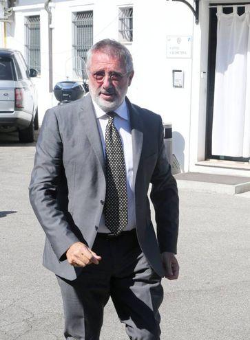 Il presidente bianconero, Giorgio Lugaresi (foto Ravaglia)