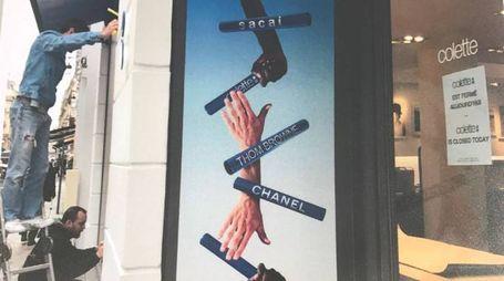 L'ingresso del negozio Colette a Parigi