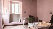 La camera da letto di Silvia, al secolo Teresa Fattorini