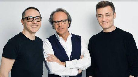 Tommaso Aquilano, Andrea Della Valle e Roberto Rimondi