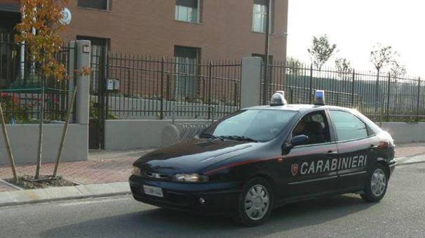 La caserma dei carabinieri di Correggio