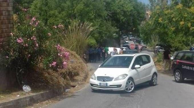 Castell'Umberto, la protesta dei residenti contro l'arrivo dei migranti (Facebook)