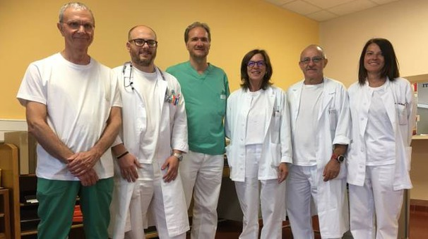 Lo staff del dottor Pietro Taliente