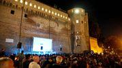 Il cinema è stato protagonista venerdì sera in centro (foto Ravaglia)