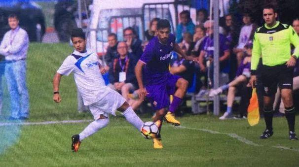 Fiorentina-Trentino Team, una fase di gioco