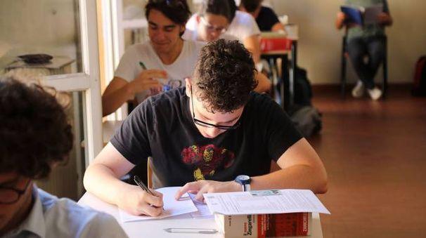 La prova d'italiano al liceo classico Rambaldi