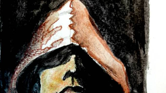Carlo Sala nell'illustrazione di Guido Bandera