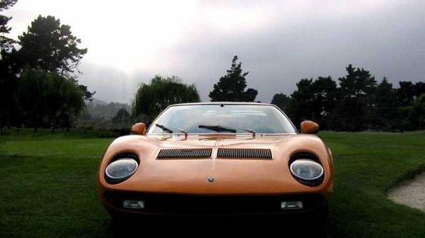 Una Lamborghini Miura