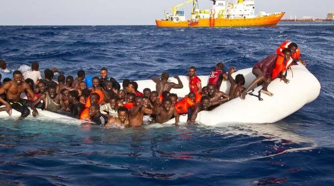 Migranti (Ansa)